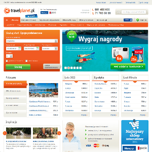 Strona travelplanet.pl