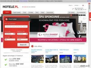 Strona hotele.pl